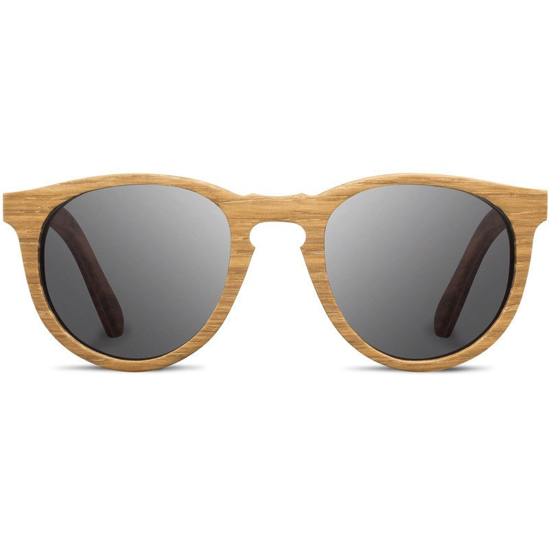 Shwood Belmont Original Sunglasses | Oak / Grey