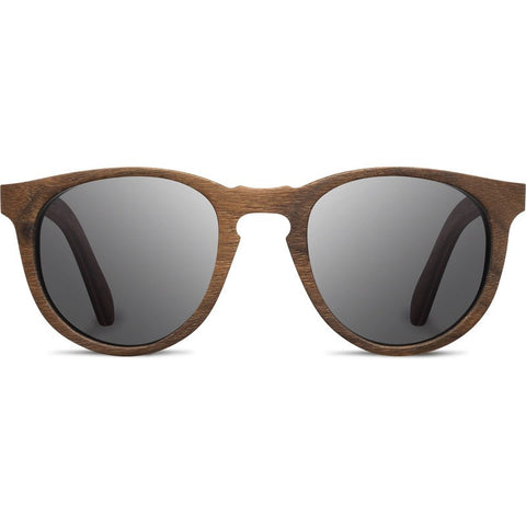 Shwood Belmont Original Sunglasses | Walnut / Grey Polarized