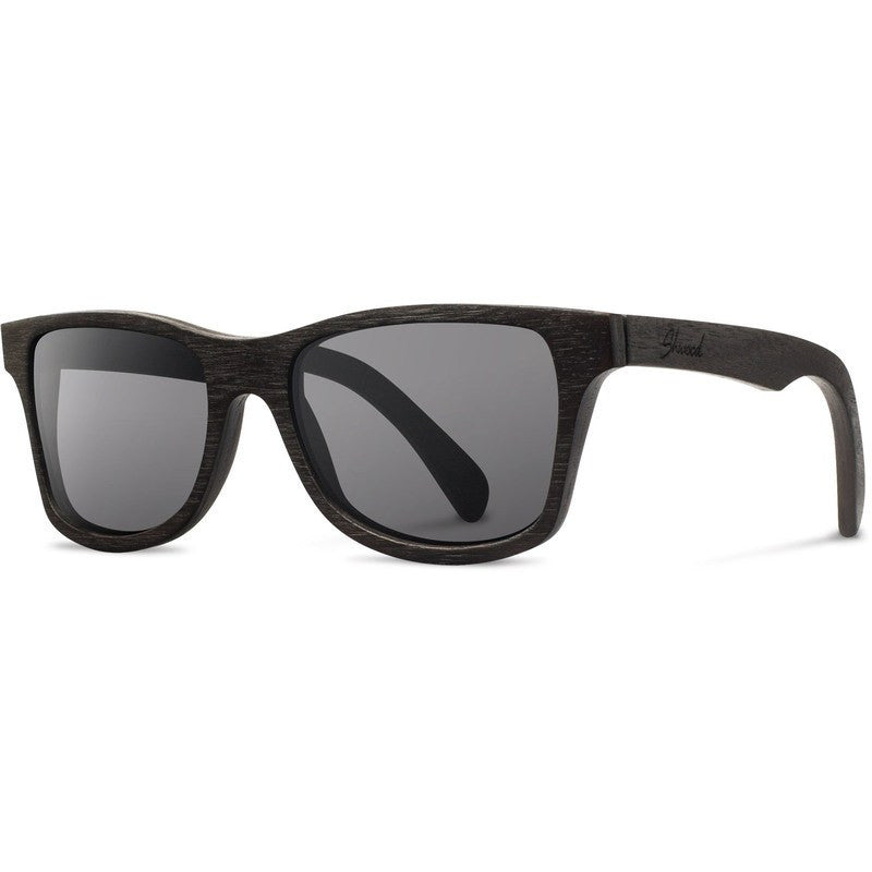 Shwood Canby Original Sunglasses | Dark Walnut / Grey