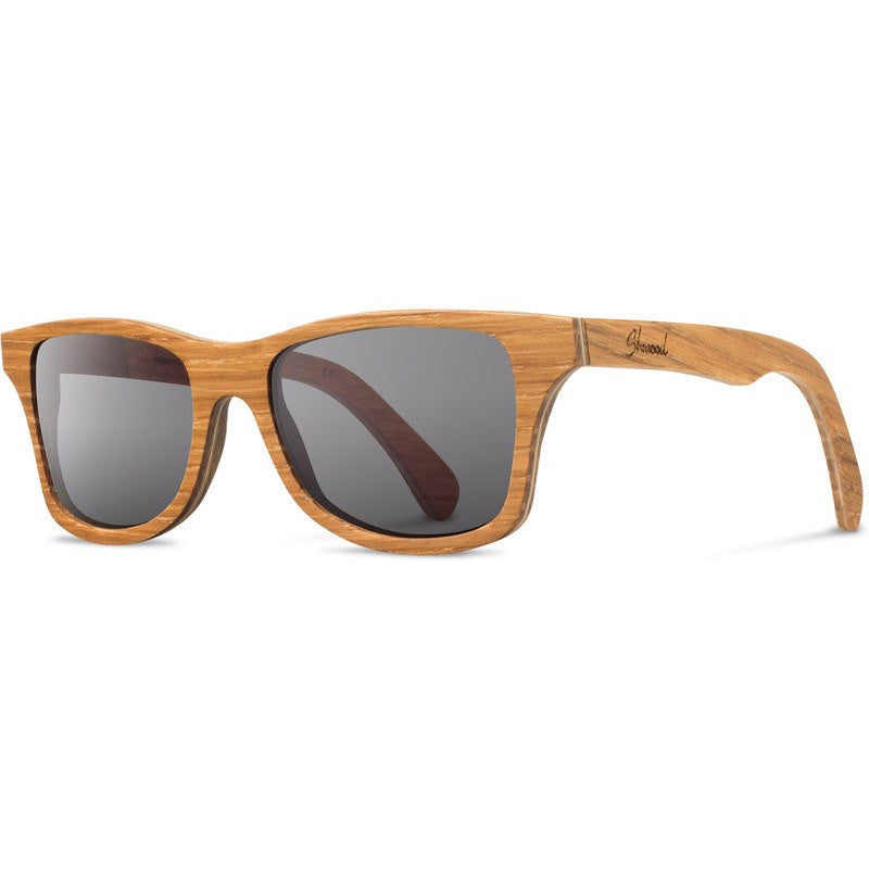 Shwood Canby Original Sunglasses | Oak / Grey Polarized