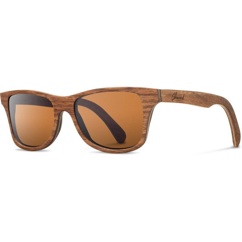 Shwood Canby Original Sunglasses | Walnut / Brown Polarized