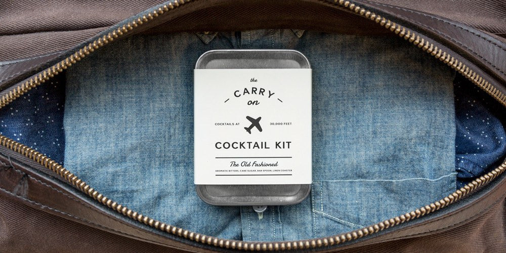 W&P Design Carry-on Cocktail Kit | Old Fashioned MAS-CARRY-KIT