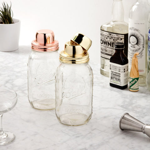W&P Design The Mason Shaker | Gold