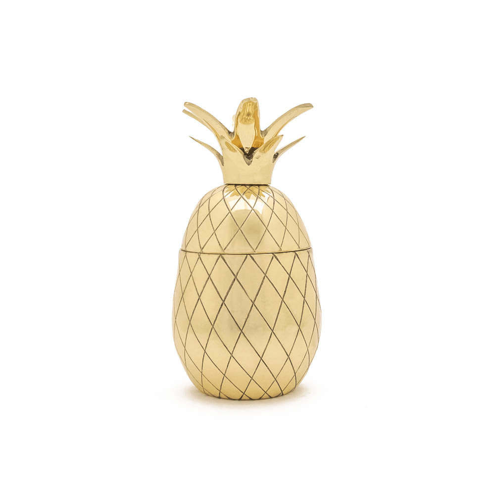 W&P Design Pineapple Tumbler | Gold MAS-PINEG-12