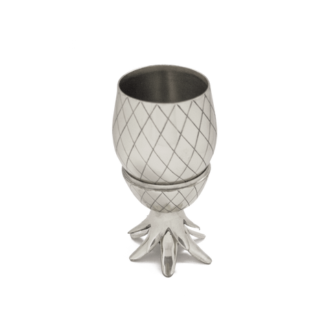 W&P Design Pineapple Tumbler | Silver MAS-PINES-13