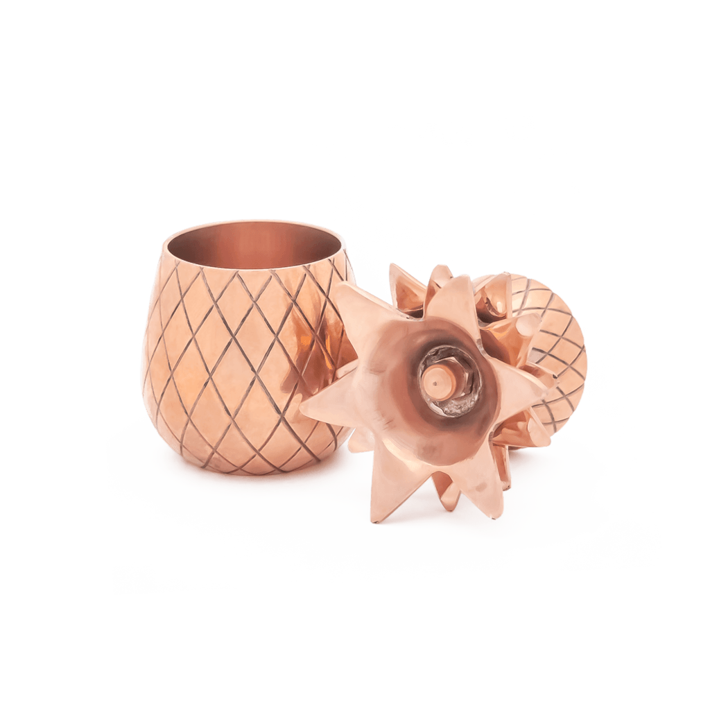 W&P Design Pineapple Shot Glass Set | Copper MAS-PINEC-2