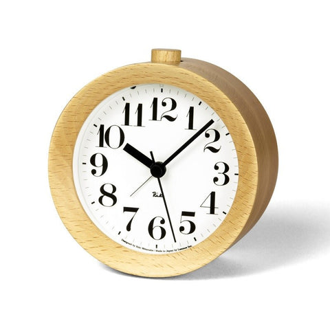 Lemnos Riki Alarm Clock | Natural