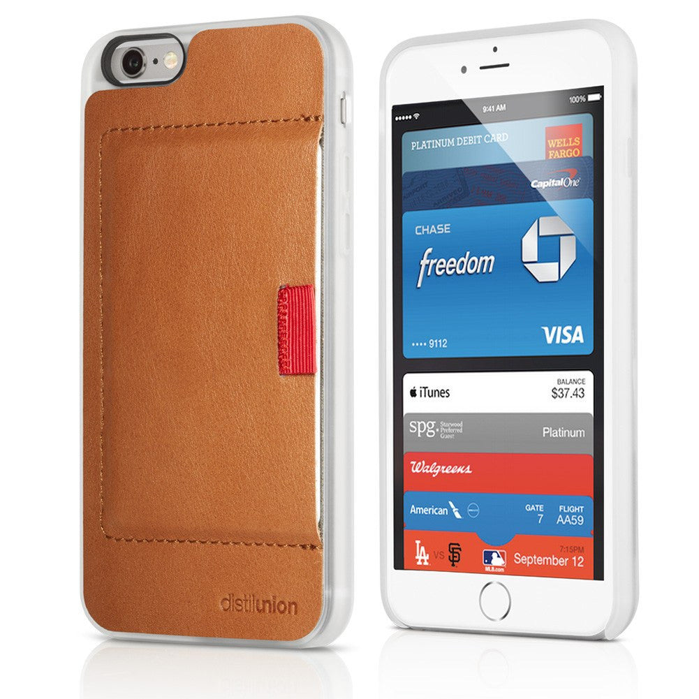 Distil Union Wally iPhone 6/6s Wallet Case | Cowboy Brown WTP602