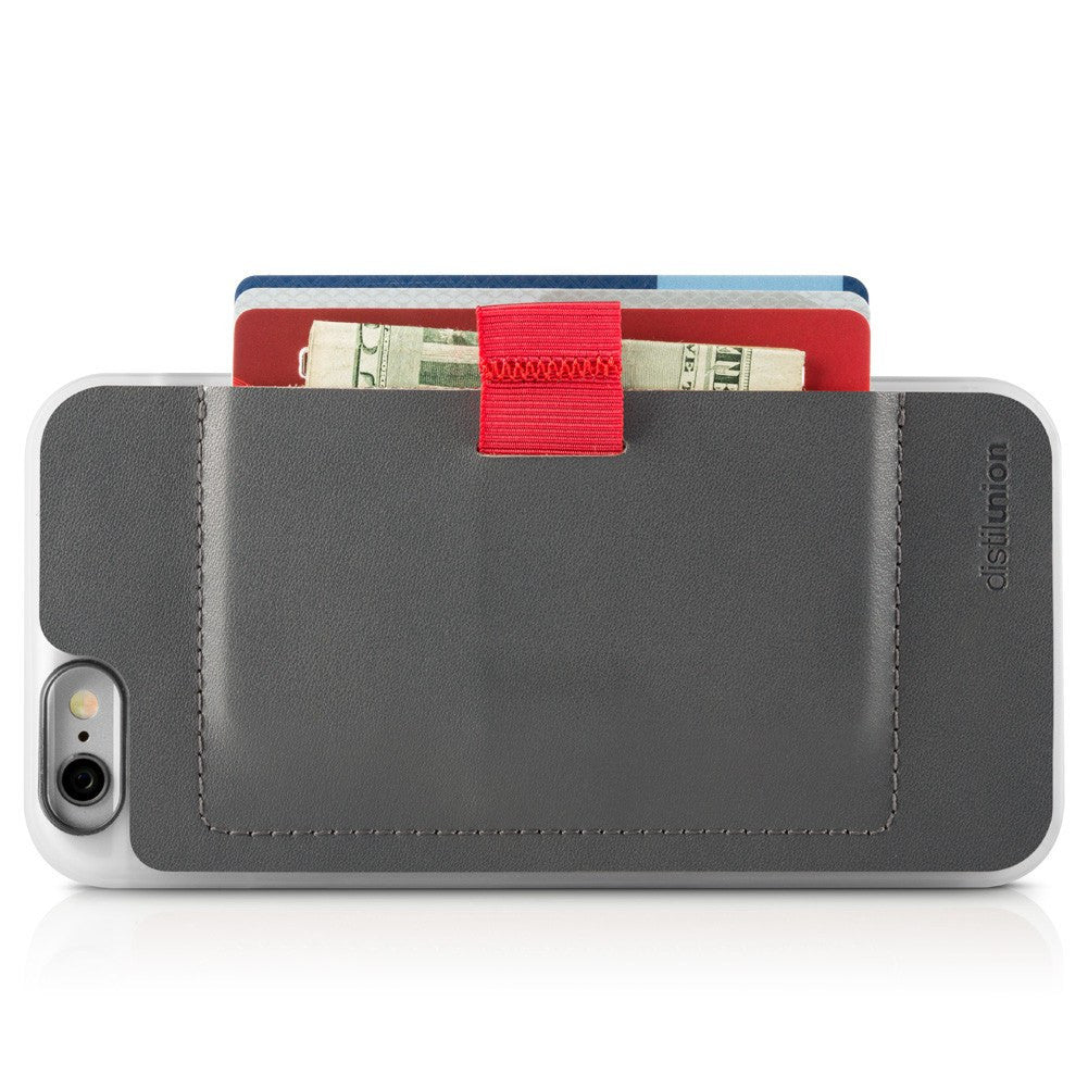 Distil Union Wally iPhone 6/6s Wallet Case | Astronaut Gray WTP603