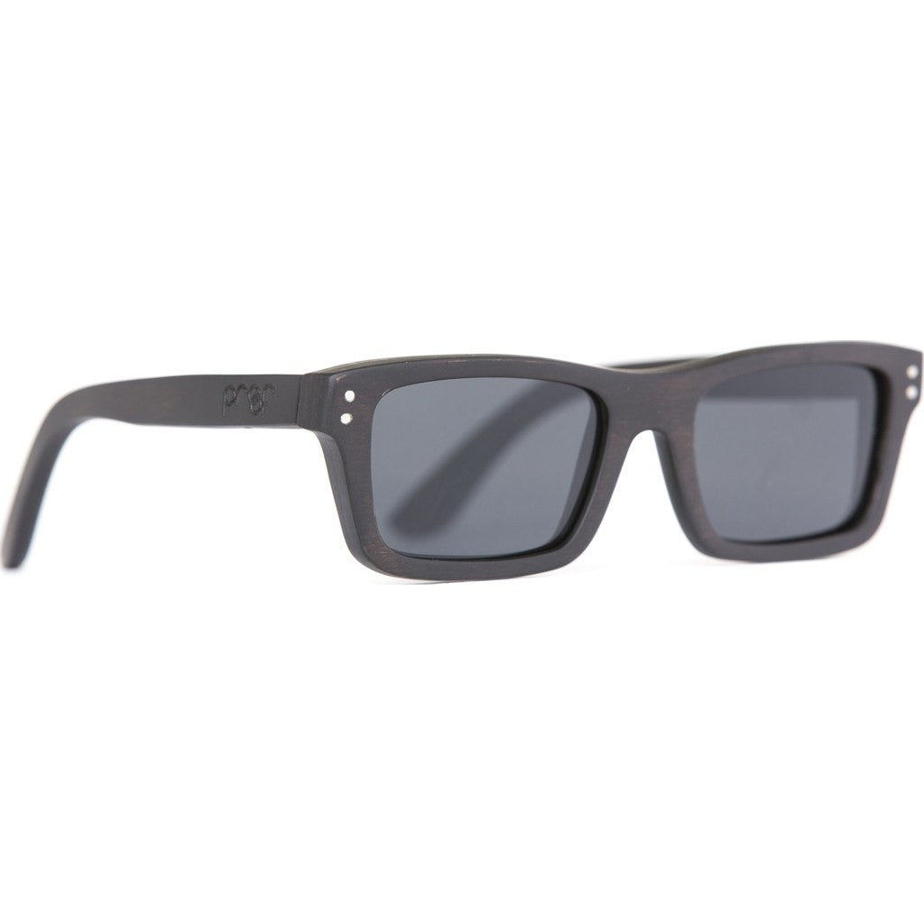 Proof Boise Wood Sunglasses | Black Maple/Polarized bosebpol