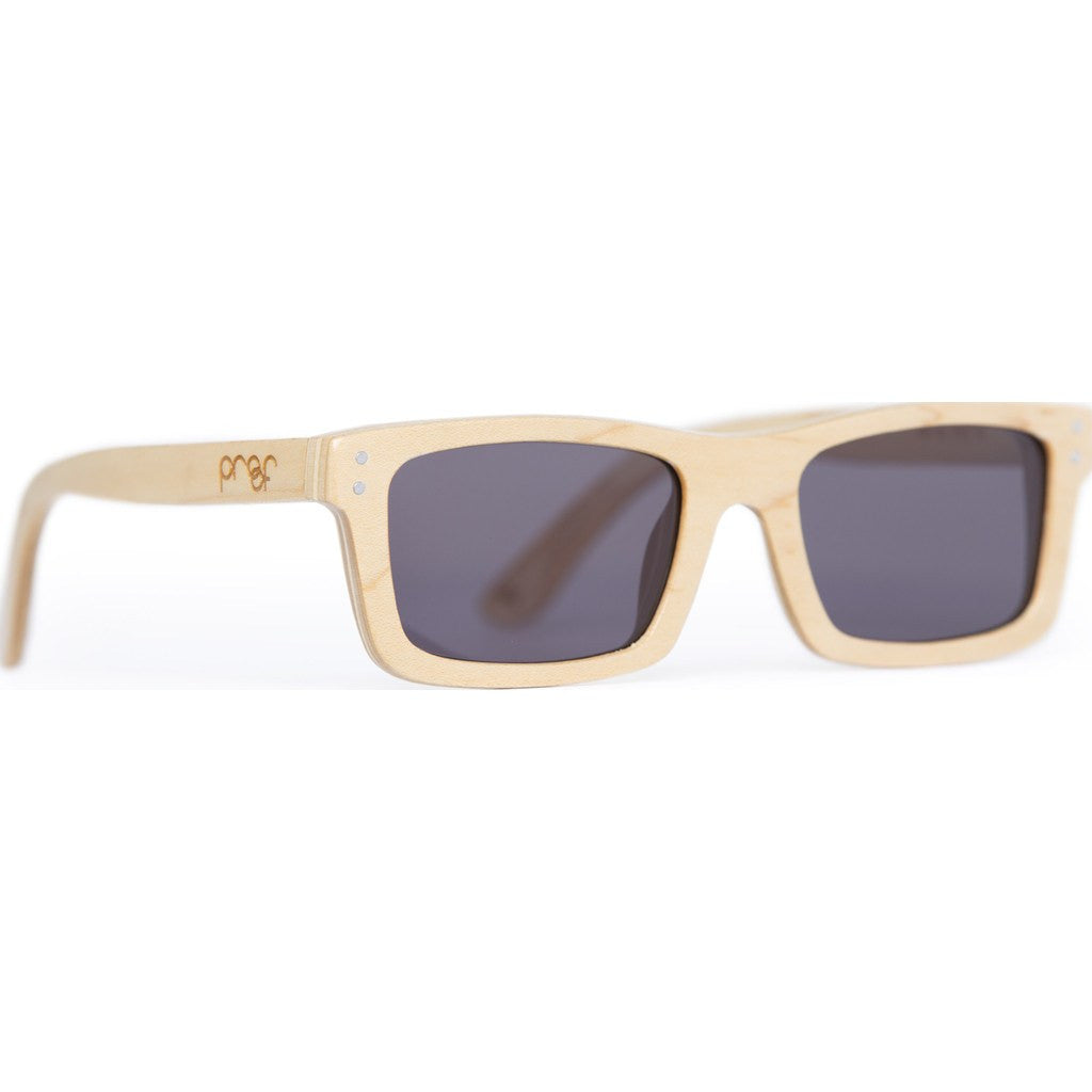 Proof Boise Wood Sunglasses | Maple/Gray bosbamgry