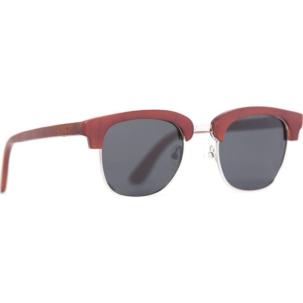 Proof Declo Wood Sunglasses | Mahogany/Polarized