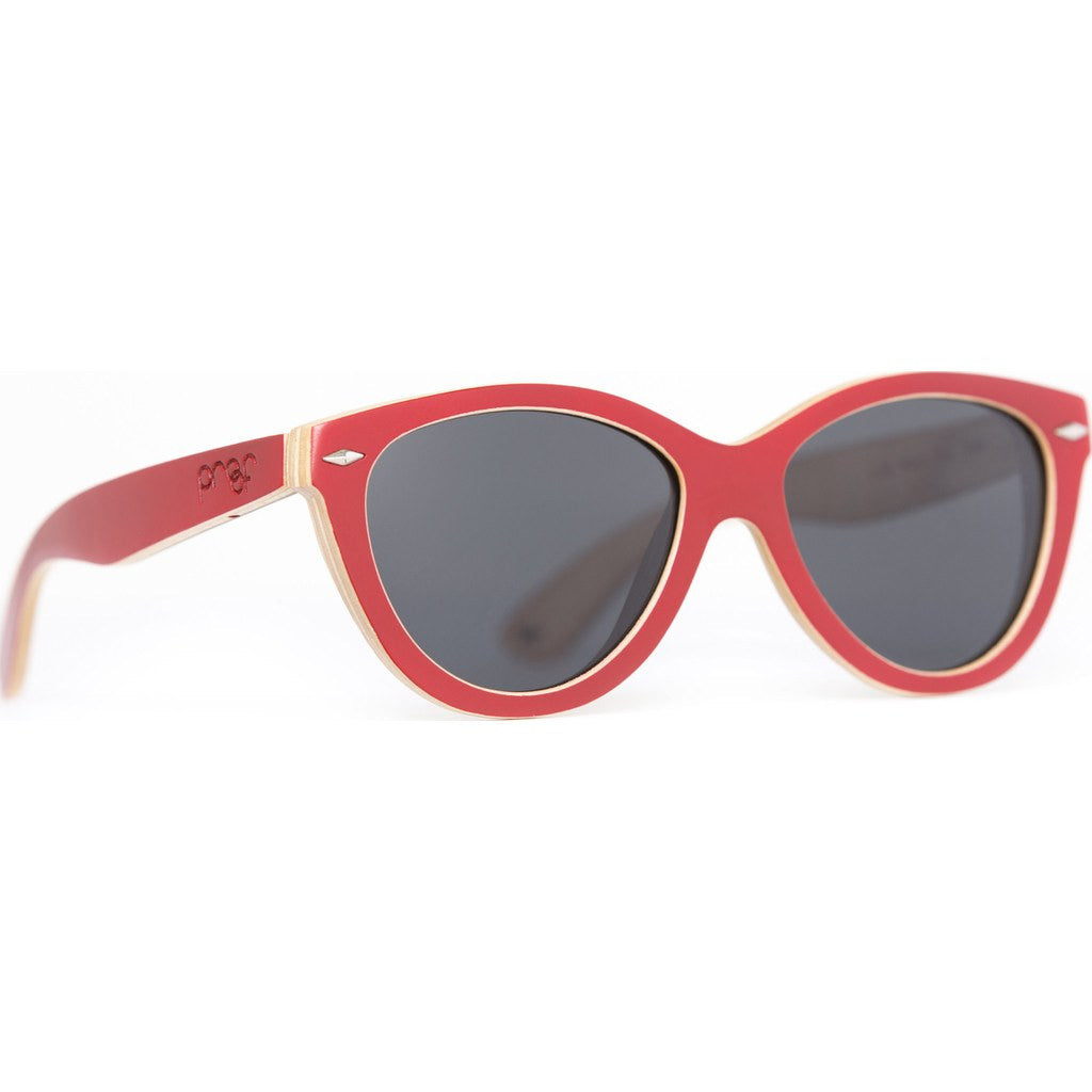 Proof McCall Wood Sunglasses | Red Maple/Polarized mclredpol