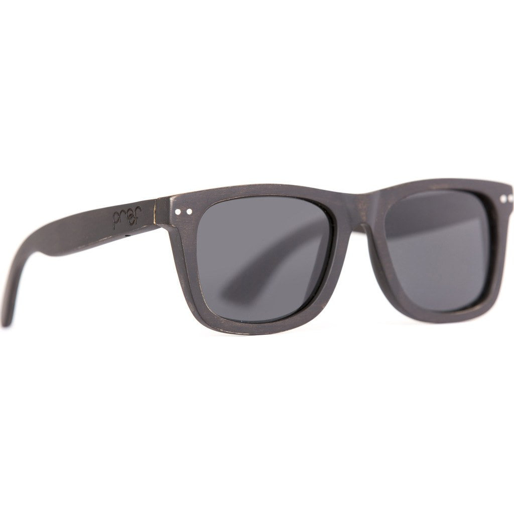 Proof Ontario Wood Sunglasses | Black Maple/Polarized ontebpol
