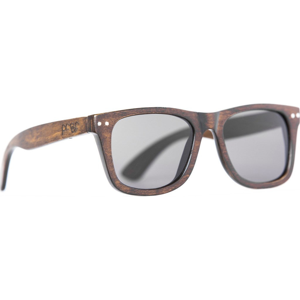 Proof Ontario Wood Sunglasses | Stained/Gray ontstngry