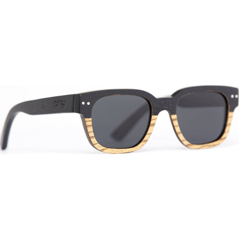 Proof Pledge Wood Sunglasses | Zebra Flux/Polarized plgtrapol