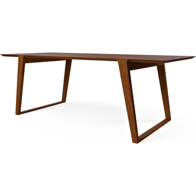 Kalon Isometric Wood Table | Black Walnut $3,000.00. Gus* Modern ...