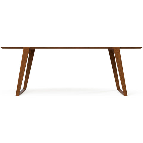 Kalon Isometric Medium Wood Table | Black Walnut