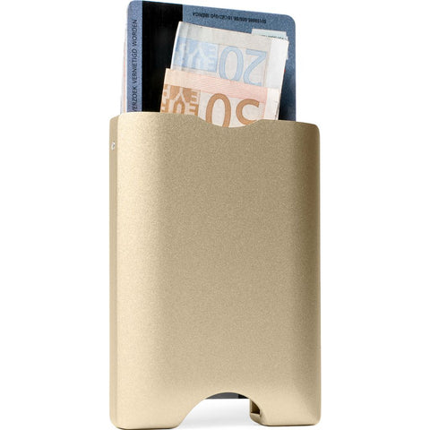 Walter Wallet Aluminum Cardhold Wallet | Gold AW003
