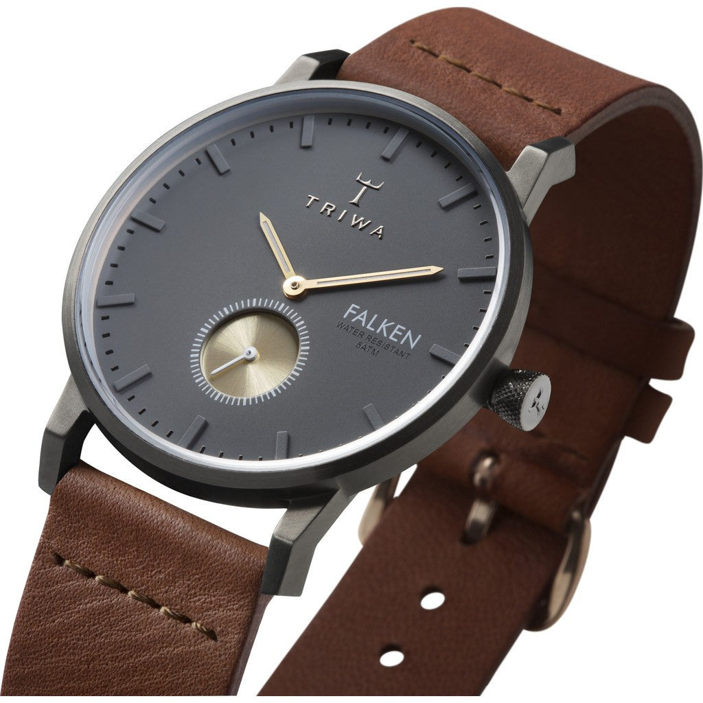 Triwa Walter Falken Watch | Brown Classic FAST102CL010214