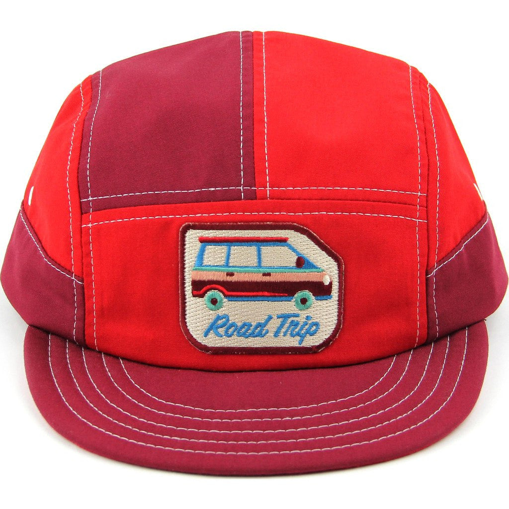 Mokuyobi Walter 5 Panel Hat | Van Red