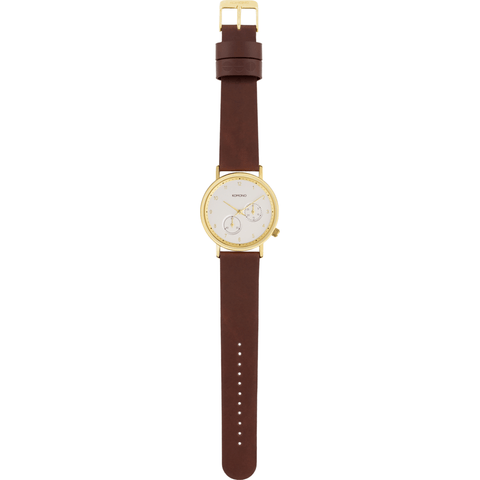 Komono Walther Watch | Tobacco KOM-W4005