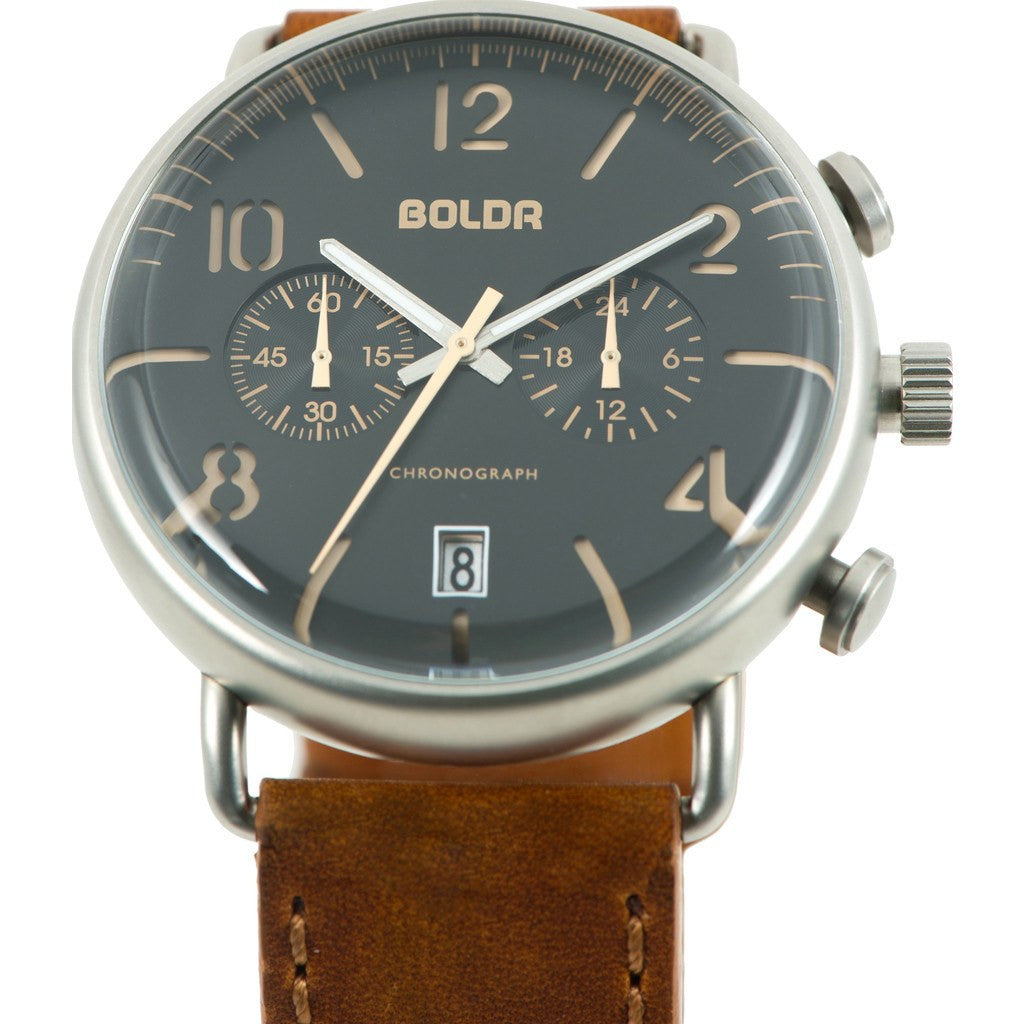 BOLDR Journey Chronograph Watch | Warhawk