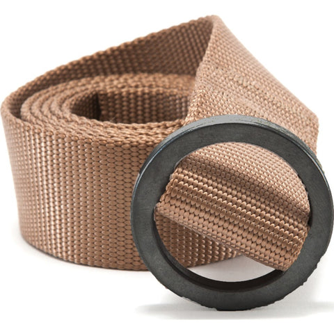 Topo Designs Web Belt | Khaki/Black