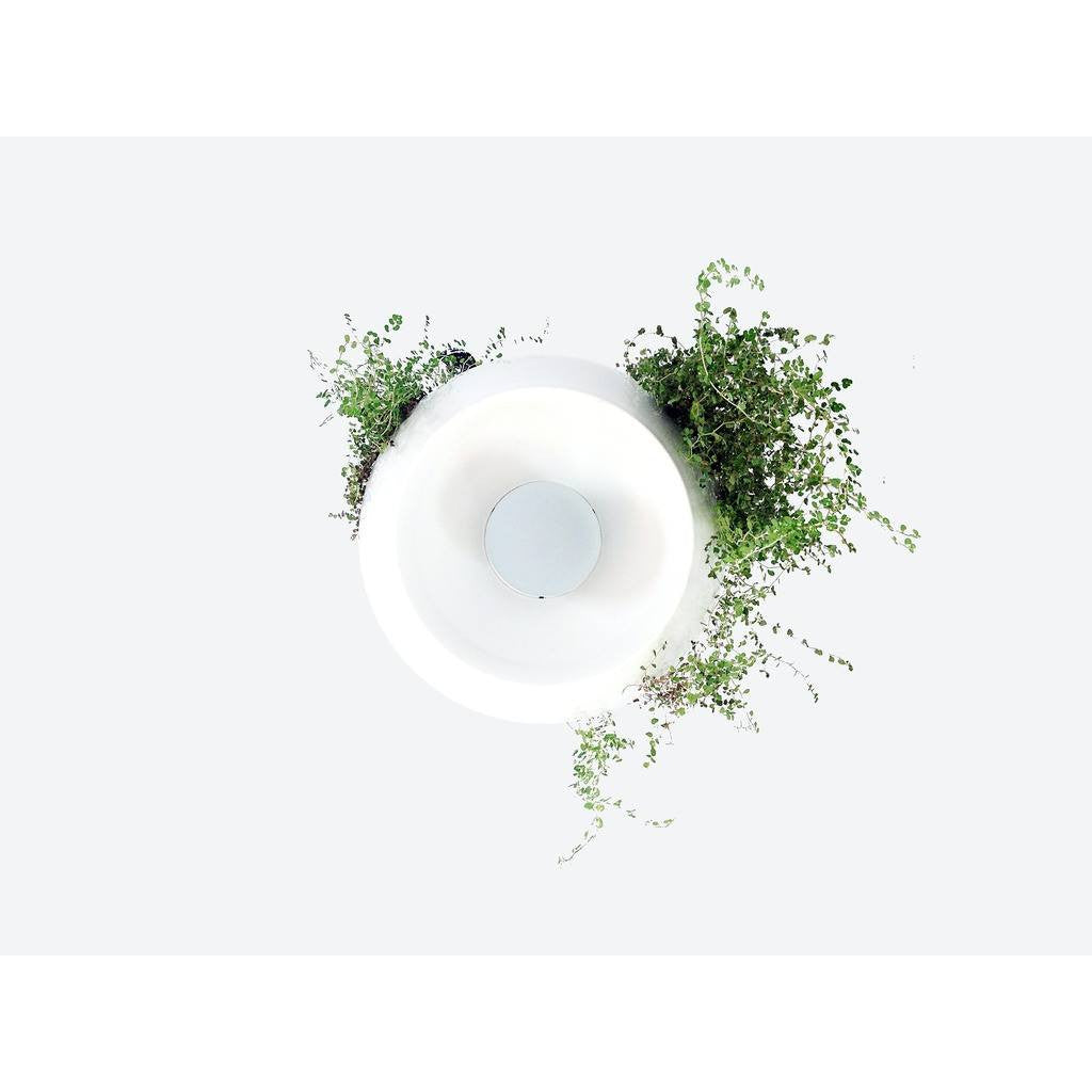 Object Interface Well Light Planter | White/White/White WL1-WWW