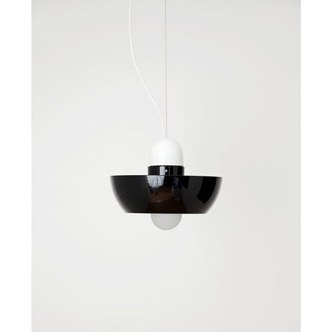 Object Interface Well Light Planter | White/White/Black WL1-WWB