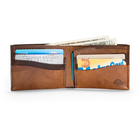 Ezra Arthur No. 8 Wallet | Whiskey CW802