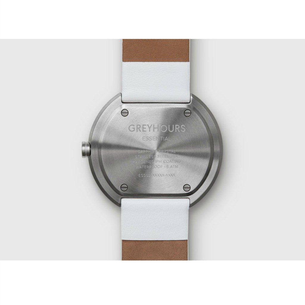 Greyhours Essential Light Hours Watch | White ESSENTIALWHITE01