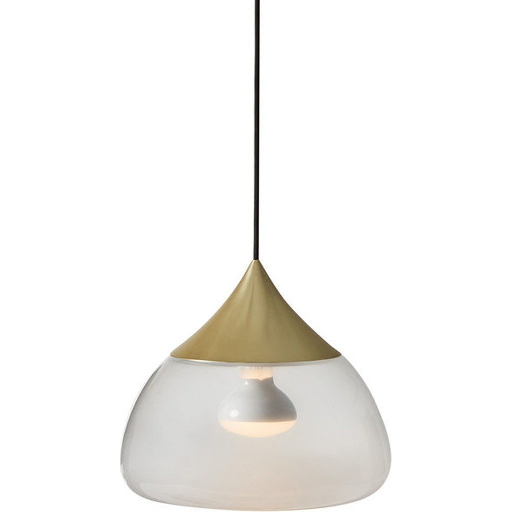 Seed Design Mist Large Pendant Lamp | Brushed Brass SQ-8997PL-BRS