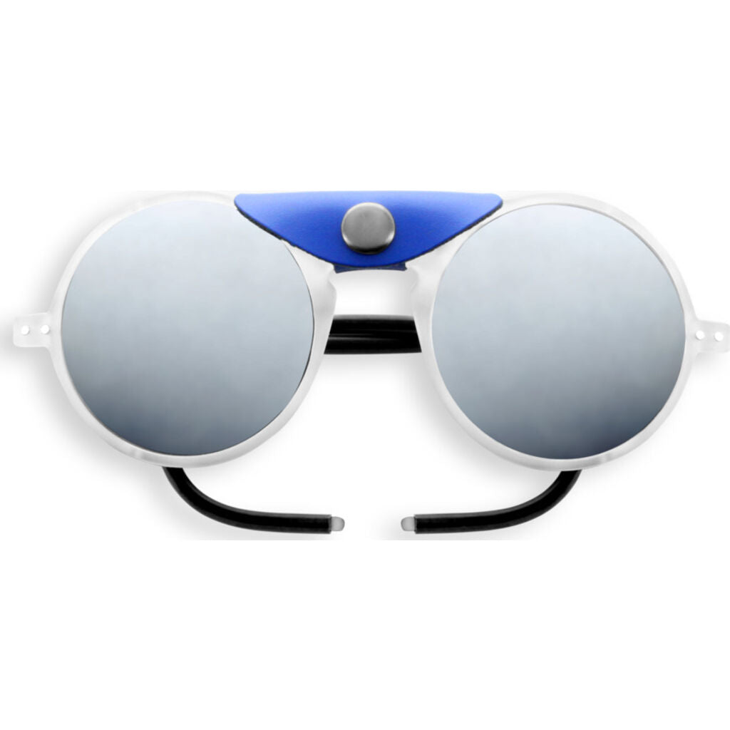 Izipizi Glacier Sunglasses | Full White With White Shields