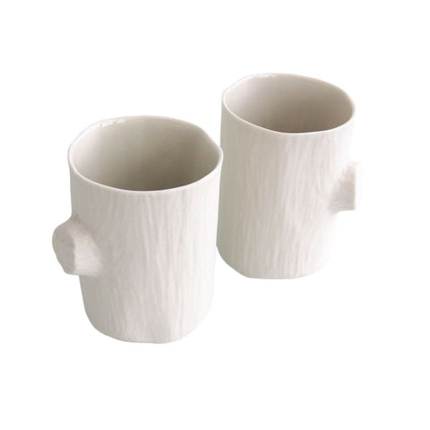 Michiko Shimada Slim Log Tumbler Set of 2 | White