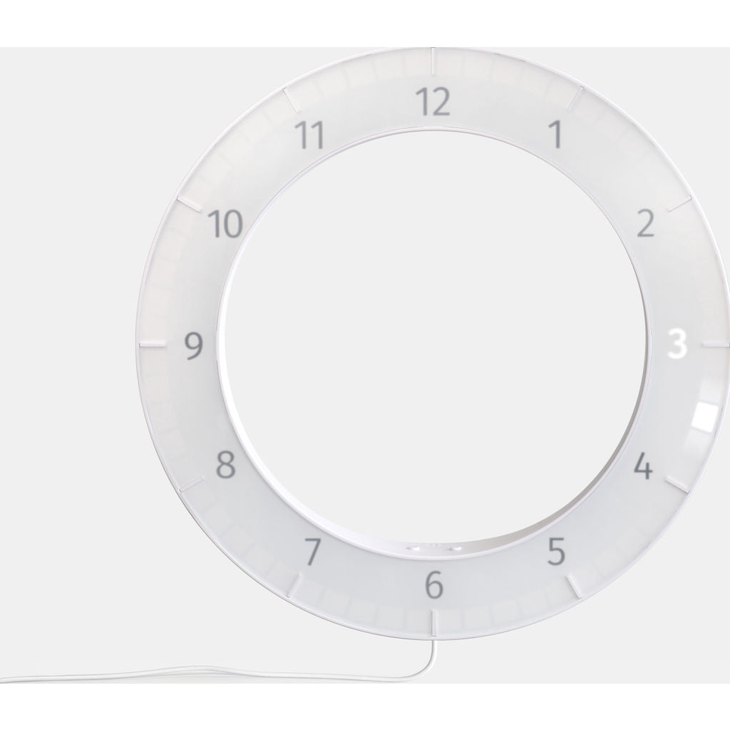 Kibardin The Only Clock | White/White