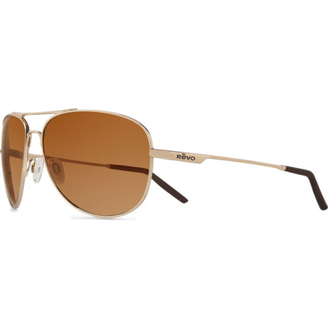 Revo Eyewear Windspeed Gold Sunglasses | Open Road RE 3087 04 GOR