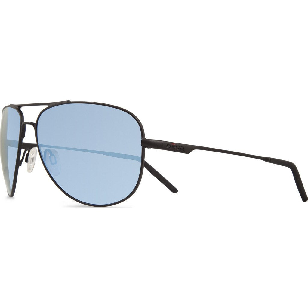 Revo Eyewear Windspeed Matte Black Sunglasses | Blue Water RE 3087 01 BL