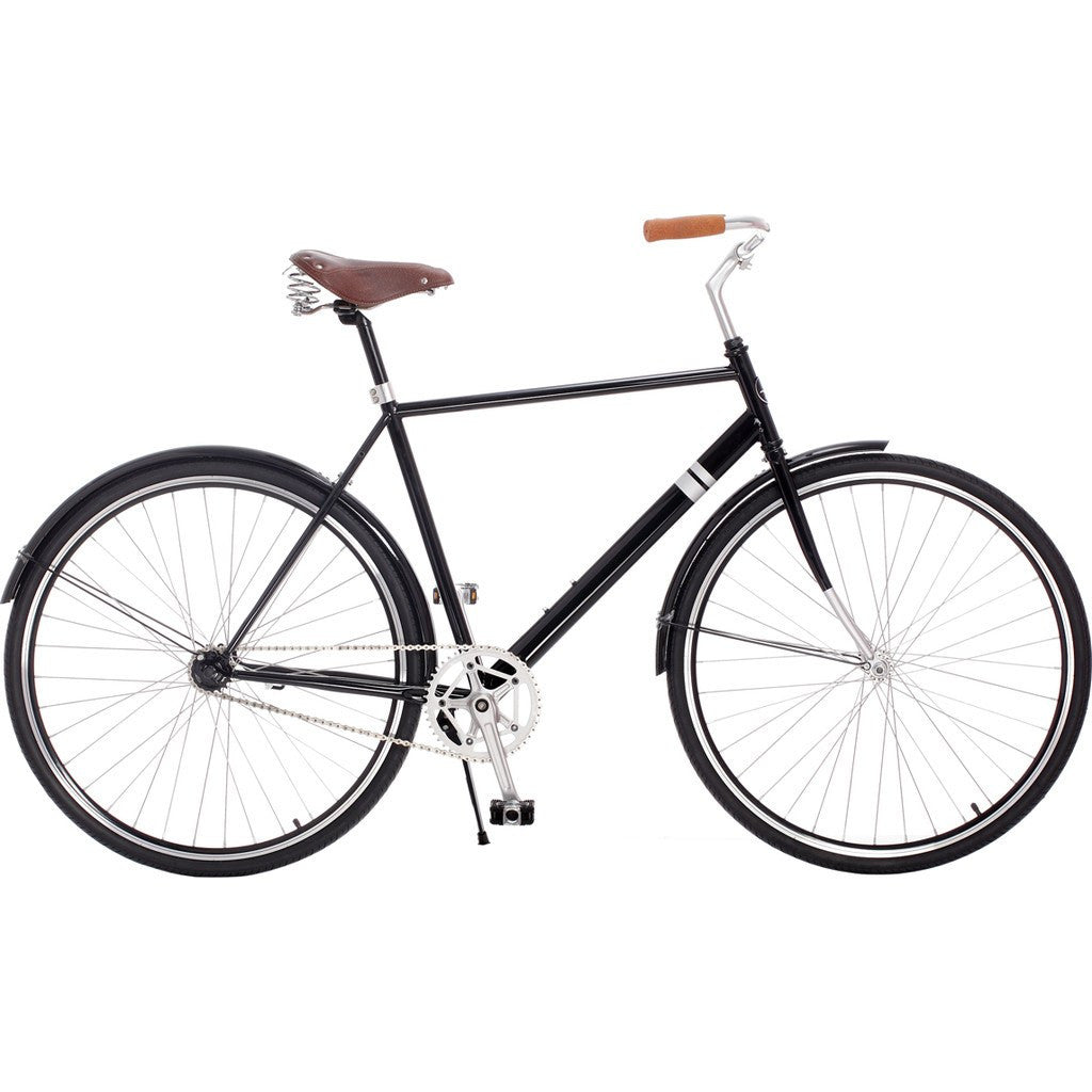 Sole Bicycles Windward City City Cruiser Bike | Gloss Black/Silver Accents  CTB 001-50