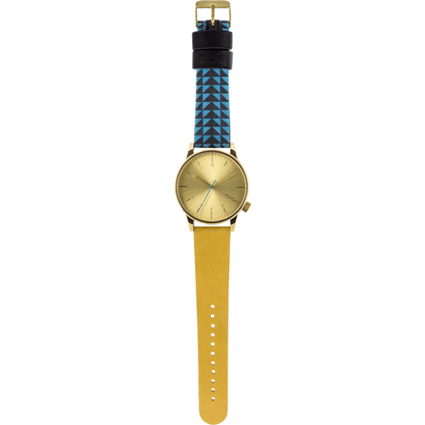 Komono Winston Galore Watch | Triangle Teal