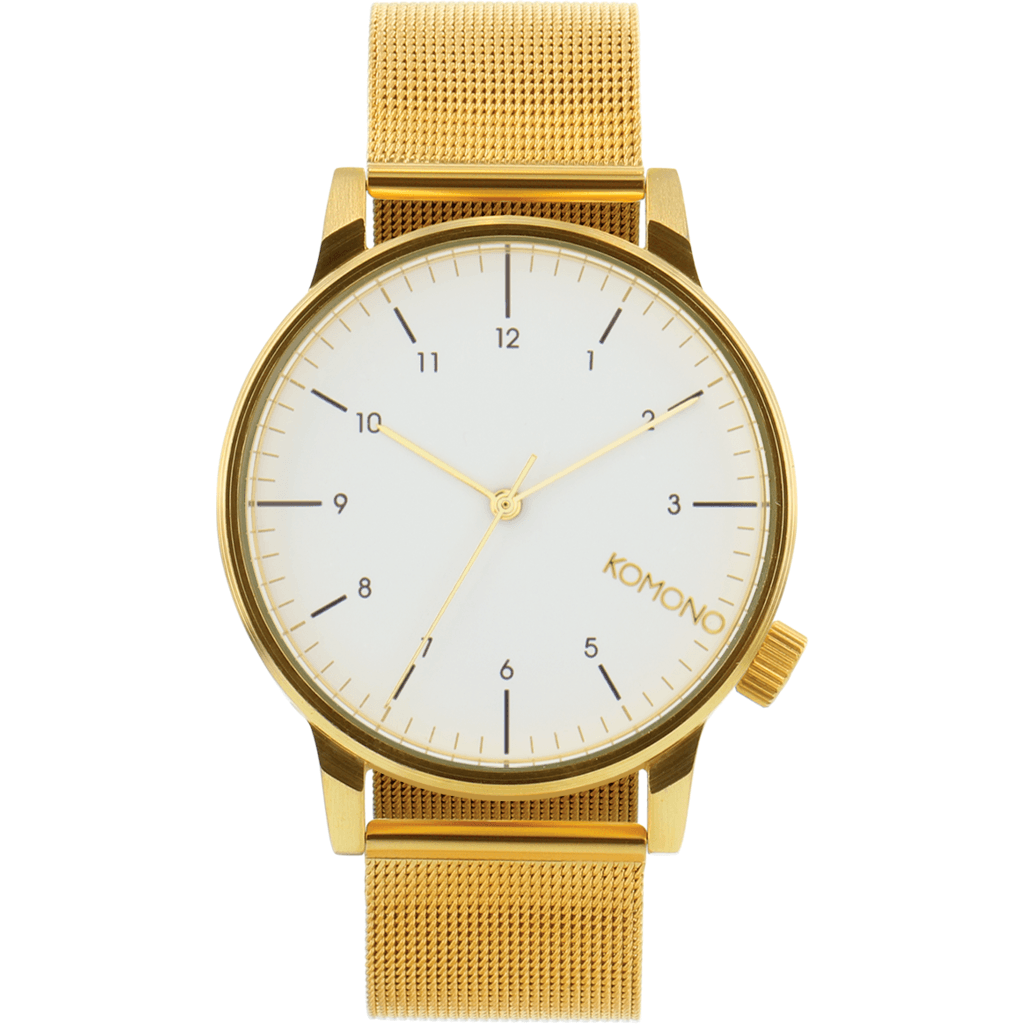 Komono Winston Royale Watch | Gold/White KOM-W2358