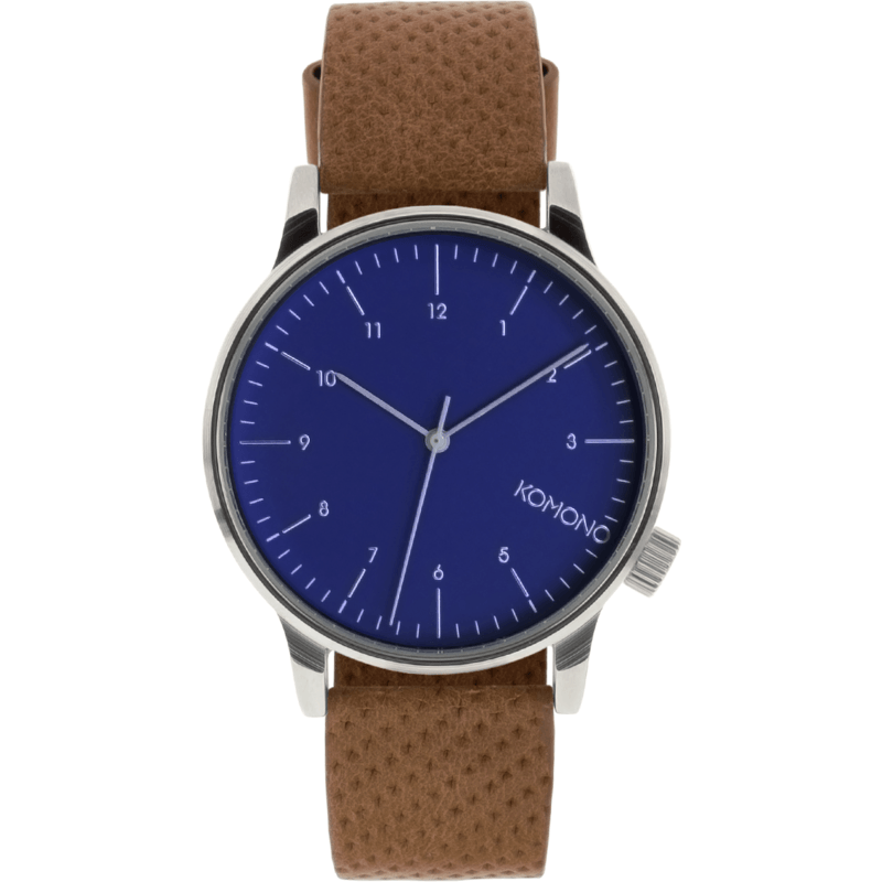 Komono Winston Watch | Blue Cognac KOM-W2000