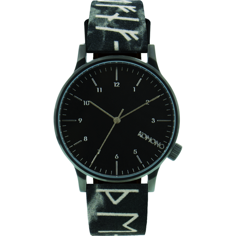 Komono Winston Rune Watch | Black