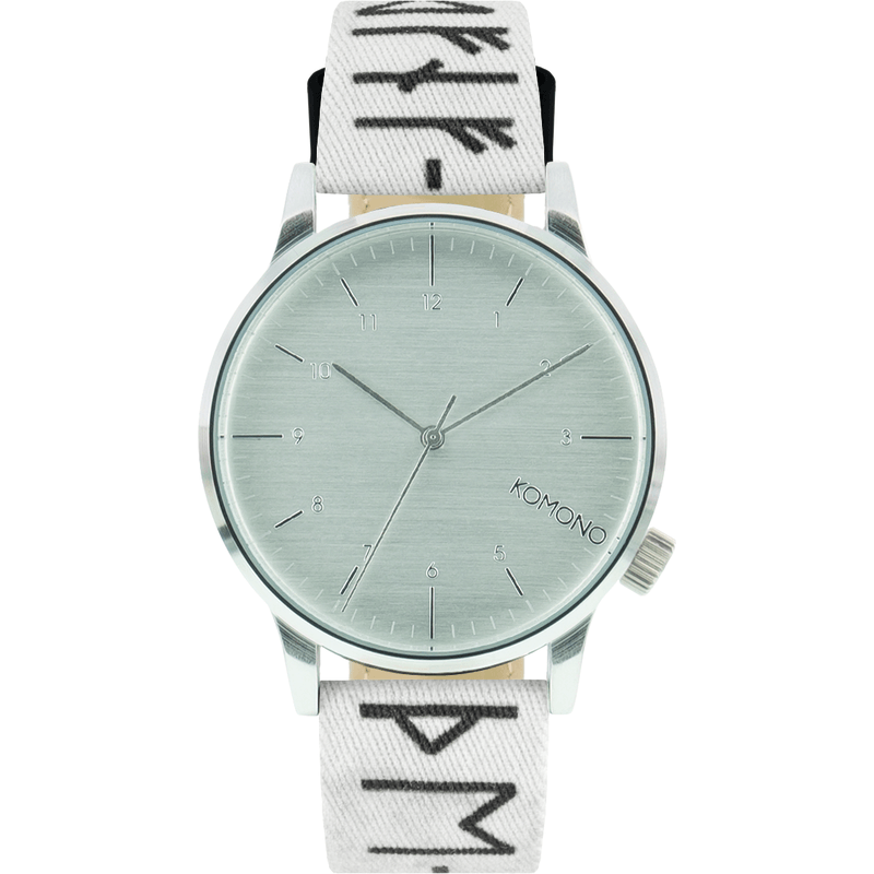 Komono Winston Rune Watch | White