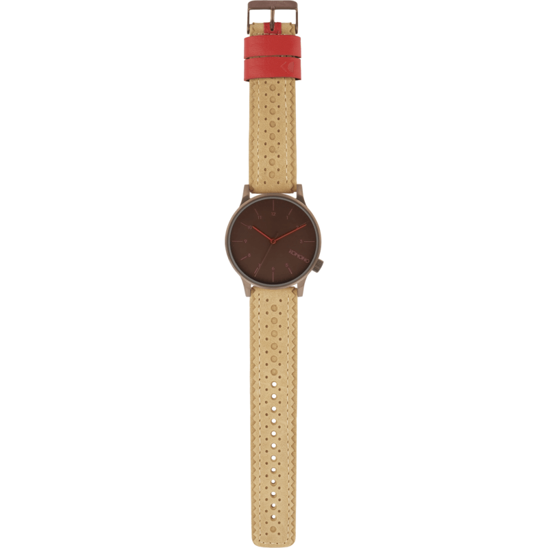 Komono Winston Brogue Watch | Desert Sands KOM-W2010