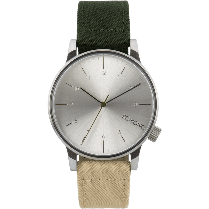 Komono Winston Heritage Watch | Multitone Green KOM-W2131