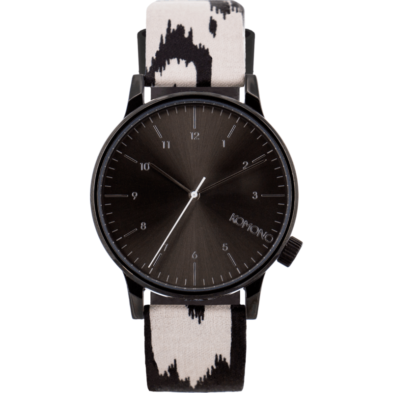 Komono Winston Print Series Watch | Blurred Lines