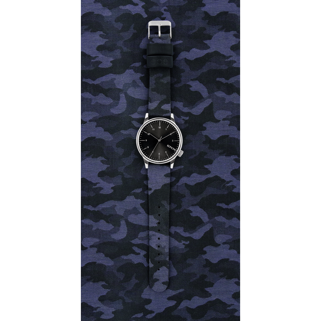 Komono Winston Print Watch | Camo Black