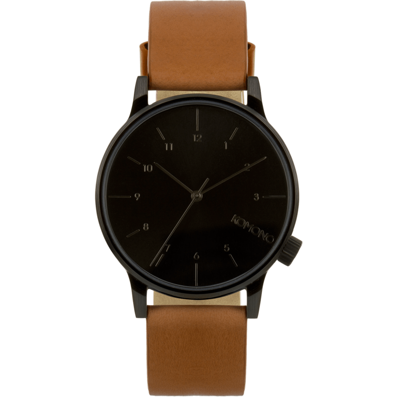 Komono Winston Regal Watch | Cognac KOM-W2253