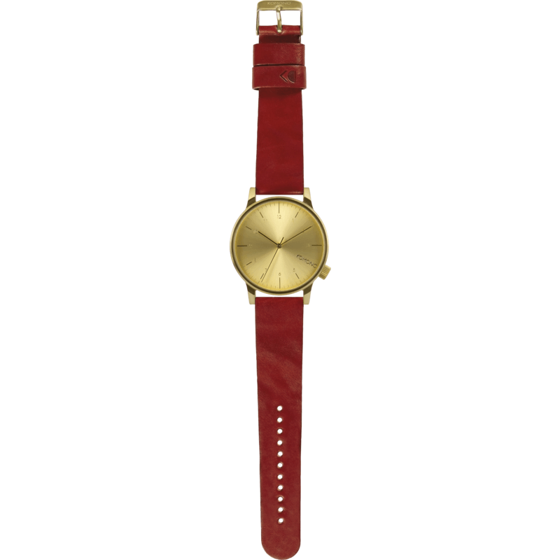 Komono Winston Regal Watch | Red KOM-W2250